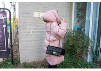 Wholesale 2016Winter New Han Edition Pink Cotton Female Student Even The Cap Loose Cotton Padded Jacket In the Long Cotton Padded Jacket Coat