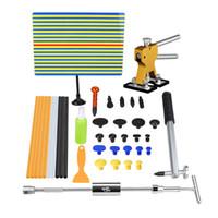 best glue sticks - Best PDR ToolKit Paintless Dent Repair Tools Reflector Dent Board Glue Sticks PDR Hammer Dent Lifter Hand Tool Set Herramentas