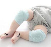 Wholesale New Baby Safety Cotton Knee Pad Kids Socks Thick Multi function Children Short Kneepad Crawling Protector Baby Care Product