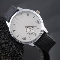 ar works - Good quality popular Top Brand AR Men s Small dial can work Leather strap quartz wrist Watch with logo