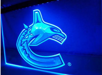 Wholesale Vancouver Canucks Bar Beer pub club d signs LED Neon Sign man cave