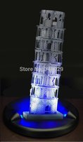 architectural base - 1 d architectural puzzles Torre di Pisa LED base cubic fun d puzzle forge world models building toys for adults