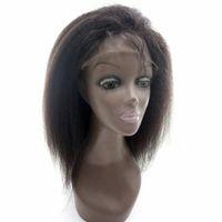 Precio de Peluca recta sin cola peruana llena del cordón-Peluca de Glueless Pelucas del frente del cordón del pelo humano de la densidad del 130% Pelucas perucas del cordón del pelo de la Virgen peruana del pelo lleno con el pelo del bebé
