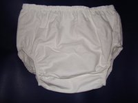 Wholesale 3 New Adult Incontinence Flannel pants inside PVC PM003