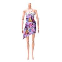 beautiful nightdress - 1PCS Dolls Accessories Fashion Nightdress For Barbie Doll Newest Cool Beach Dress Beautiful Handmade Party Clothes