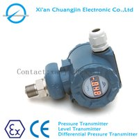 Wholesale Pressure Transducer Transmitter with Housing or led display Marking ExiaIICT6 Cast aluminium explosion proof housing