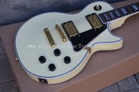 Wholesale G LP Custom VOS electric guitar Randy Rhoads guitar Golden hardware Ebony fingerboard