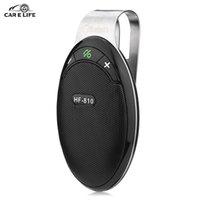 auto answer phone - HF Car Kit Car Auto Wireless Bluetooth Hands Free Smart Bluetooth Phone Music Audio Receiver Auto answering Speakerphone