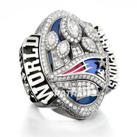 Wholesale 2017 England Patriots Super Bowl Championship Ring BRADY KRAFT MVP For Fans