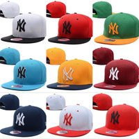 base ball caps - Yankees Hip Hop MLB Snapback Baseball Caps NY hats Snap back Sports New York Women Men american football Base ball caps