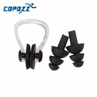 Wholesale High Quality Soft Swim waterproof Silicone Earplug nose clip set Surf Swimming Pool Accessories Waterproof adult diving Soft