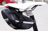 bicycle seat bags - 1pcs New Arrival Outdoor Cycling Mountain Bike Bicycle Back Under Seat Saddle Bags Tail Pouch Package Waterproof