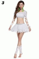beauty belly dance - 2016 Newest Hot Belly Dance Dress Sexy Princess Costume Women Sequins Yarn Bandage Beauty Skirt Performance Clothes Gypsy Skirts DQ1093