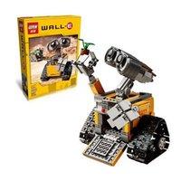 Wholesale odels Building Toy Blocks LELE Assemble Sets Idea Robot WALL E Building Model Kits Minifigures Building Blocks Single Sale Bricks A