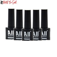 Wholesale 7 ml Colors Avaliable LED UV Summer Hot Nail Gel Nail Polish Gel Long lasting Soak off Gel Nail