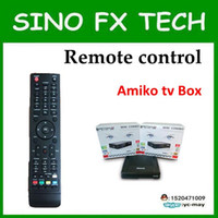Wholesale Freeship Singapore Amiko mini combo DVB S CABLE BOX remote control remote controller for set top box