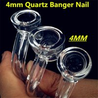 Wholesale Factory Direct Highly mm Thick Club Banger mm mm mm Male Or Female Domeless Quartz Nail Real Quartz banger