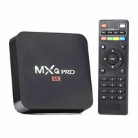 google internet tv box - MX MXQ PRO Android Rockchip RK3229 quad core stream smart internet android tv box support HDMI USB WiFi Lan K H