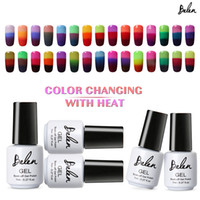 Wholesale Belen Temperature Change Color UV Gel Nail Polish Thermal Color Changing Gel Polish Chameleon Salon Soak Off Nail Art