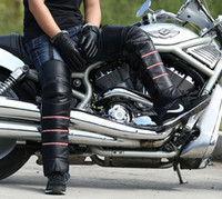 Wholesale motorcycle kneepads kneeboss kneelet kneecap keep warm waterproof windproof cold resistance PU leather easy to wear