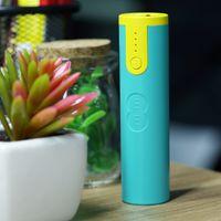 2600mah bank logos - Mini Portable charger mAh EE powerbank With LED light Charger Emergency Power bank Gift Custom LOGO Factory