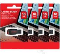 Wholesale Capacity Cruzer Blade USB Flash Drive GB GB GB Flash Drive Pendrive USB