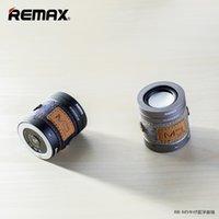 Altavoz del bluetooth de Remax RB-M5 la línea audio y el envío pequeño de 30pcs / lot DHL de la alta calidad sin hilos de DHL