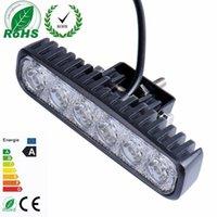 Wholesale 1Pcs W LED Work Light V IP67 Spot Flood Fog Light Off Road ATV Tractor Train Bus Boat Floodlight ATV UTV Work Light