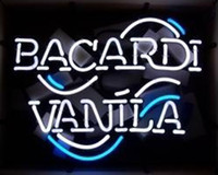 bacardi red - Bacardi Vanila Logo Neon Sign Handmade Custom Real Glass Tube Store Beer Bar KTV Club Party Motel Advertising Display Neon Signs quot X14 quot