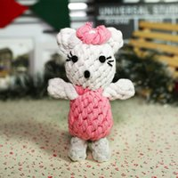 Wholesale Beauty Shape Dog Chew Toy Durable Cotton Rope Pet Toy