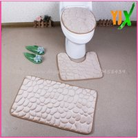 bath accessories china - China name of toilet accessories bus color design foam bath mat with home decoration