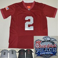 alabama a m football - Alabama Crimson Tide playoff Jerseys youth kids Men Jalen Hurts Ridley College Football Jersey with Chick Fil A Peach Bowl Patch