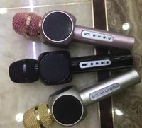 best quality computer speakers - Best quality E103 design karaoke microphones speaker magic microphone HANDLED MIC best quality singing songs conference player