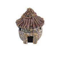 Декор аквариума Цены-Оптов- SPMART Hut Аквариум Подводный орнамент Пейзаж Рыбы Танк Декор Свет Фиолетовый Бесплатная доставка