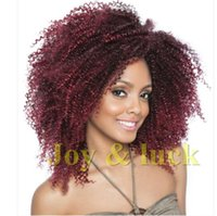 Wholesale set Marlybob inch Synthetic braids crochet twist hair Ombre braiding hair curly Crochet Hair Extensions