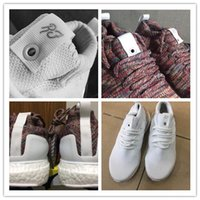 Wholesale 1 quality Ronnie Fieg Ultra boosts MID KITH rainbow Multicolor White Silver ATHLETIC shoes BY2591 BY2592