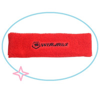 absorb fitness - Headband Movement turban Absorb sweat with pure cotton men s and women s basketball head with hair ribbon headband with fitness yoga helmet