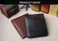 Wholesale Multi card short men wallet PU environmental quality leather wallet business leisure Korean cross section tide ultra thin Wallet