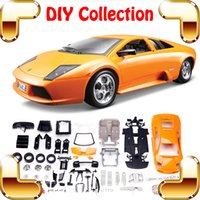 big game scale - Christmas Gift Model DIY Car Metal Collection Educational Toys Vehicle Assemble Game Big Scale Decoration Fans Fun Present