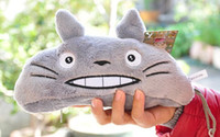 bean bag toys - Novelty NEW CM TOTORO Pea Beans DOLLS Plush Stuffed Keychain TOY BAG Pendant TOY BAG Decor TOY Gift DOLL