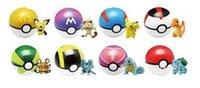 Wholesale 8colors Pokeball Pocket Monsters pikachu balls Cosplay New Pokeball Master balls great gifts for kids