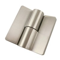 Wholesale 2pcs Stainless Steel And Zinc Alloy Door Hinges For Jib Door Public Toilet Partition Hardware Series