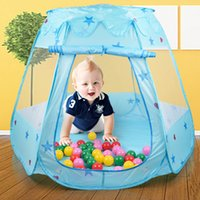 Wholesale Portable cm Kids Play Tent Play Game House Indoor Outdoor Toy Tent Children Baby Beach Tent L1140