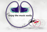 Wholesale 2017 latest Fashion Headset Stereo Mp3 Player GB nwz w262 Prevent Sweat Sports Earphone Mp3 Player In Stock