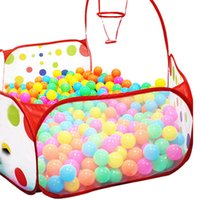 Wholesale cm Foldable Kids Children Ocean Ball Pit Pool Ball Play Toys Tent Pop up Hexagon Polka Dot Children Ball Play Pool Tent