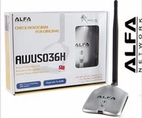 Wholesale new update ALFA AWUS036NH Network Ralink MW ALFA Wireless WiFi USB Adapter with dbi anenna Set
