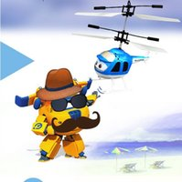 Wholesale electric children toys Novelty stall hot induction sensor remote control aircraft electric children toys