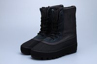 Cheap with Box Adidas Originals Yeezy Boosts 950 Kanye West Yeezy 950 Classic Black 350 Men Trainers Shoes Perfect 2017 Hot