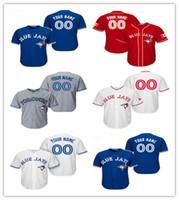 Cheap Baseball Toronto Blue Jays Jerseys Custom Best Men Short Toronto Baseball Jerseys Custom