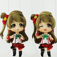 anime collection figurines - Japanese Anime Minami Kotori Cute Girl PVC Action Figure Figurine Resin Collection Model Toy Doll Gifts